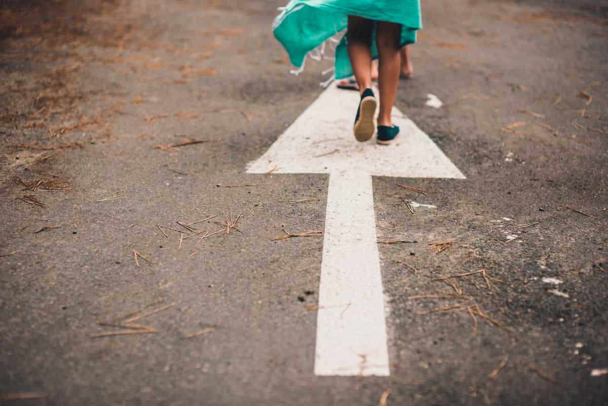 将来の目標とそこまでの道筋を明確にする
