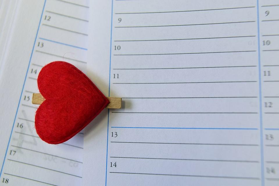 カレンダーを用いて習慣を実感する