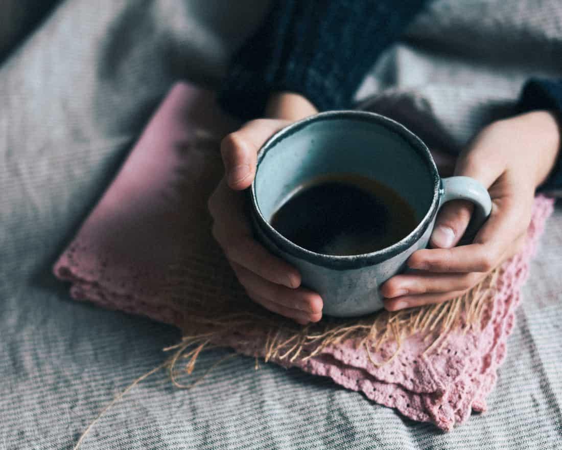 <h3>アロマやお家カフェを楽しむ</h3>