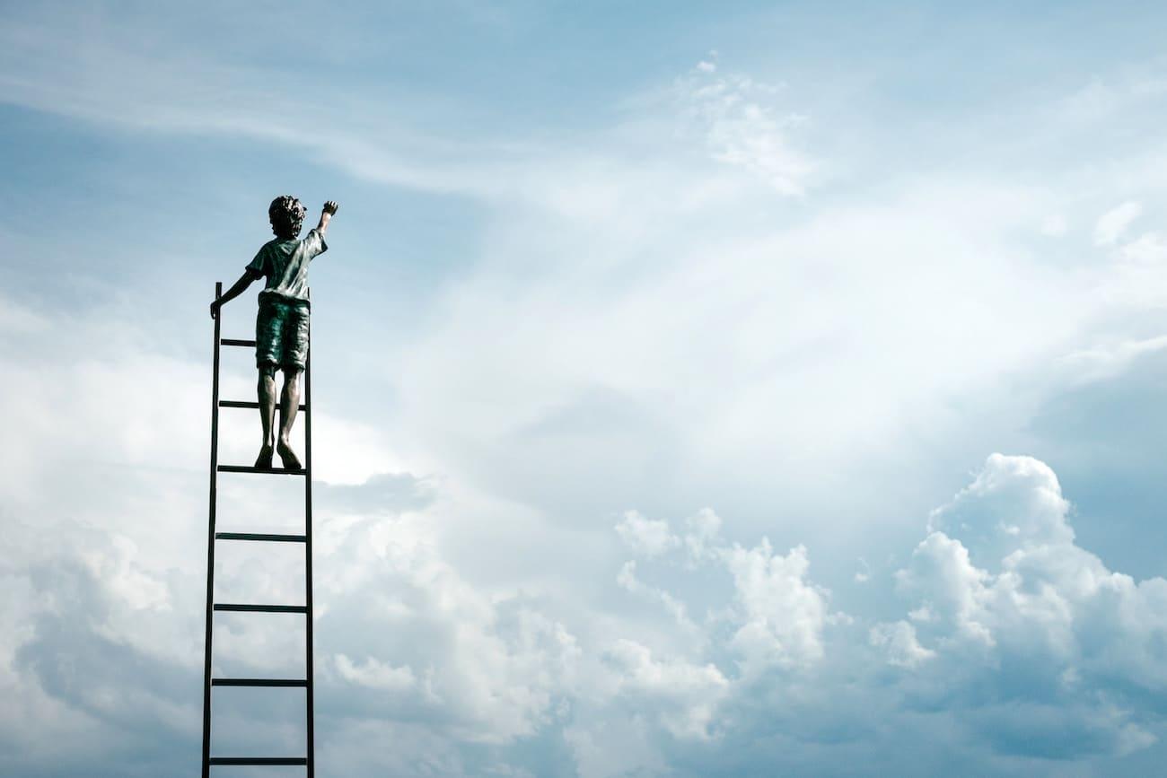 目標のハードルを下げる