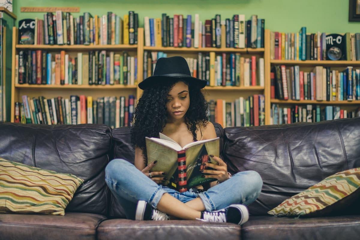 小説を読む。