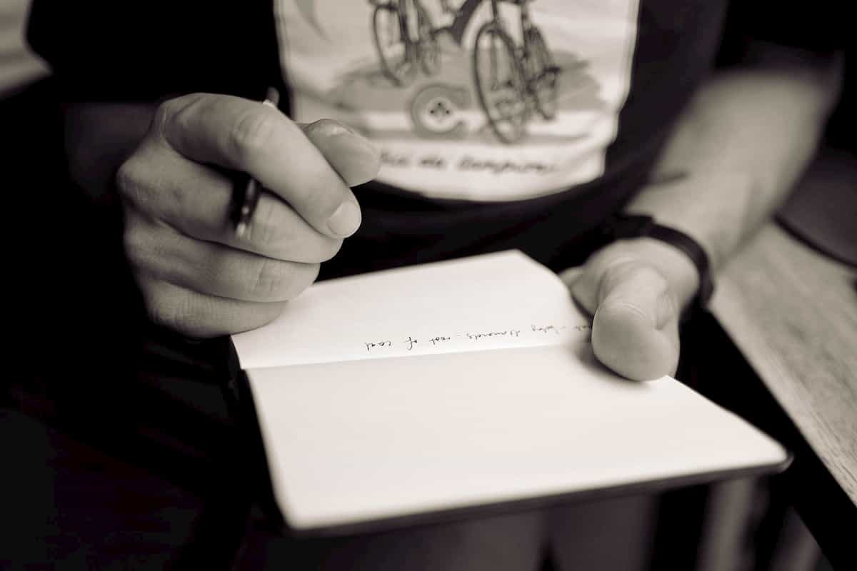 記録日記を書く