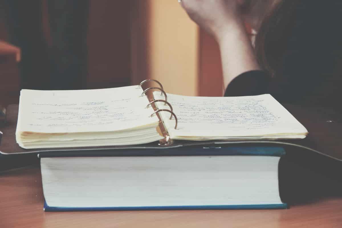 何もない日記を書く