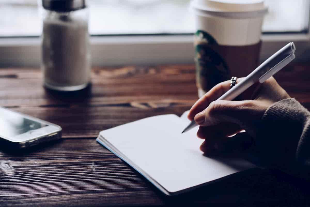 ノートに好きなことやワクワクすることをひたすら書いてみる
